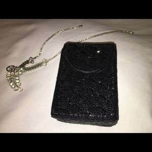 Black Sequin Phone Case